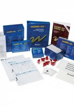 WAIS III - Escala de inteligência Wechsler para adultos, kit